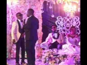 Video: Seyi Law & Small Doctor Sings Together For Oritsefemi In Edo Dialect As His Wedding Reception